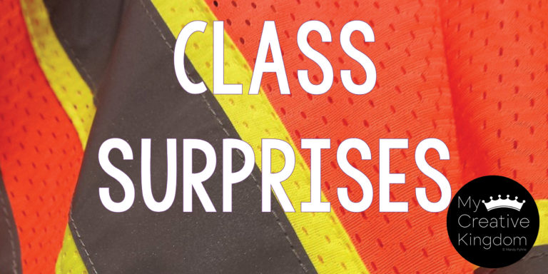 Classroom Surprises the First Month of School