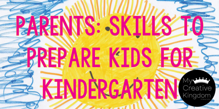 Parents:Skills to Prepare kids for Kindergarten PART 1