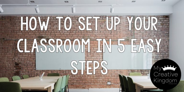 How to Set up Your Classroom in 5 Easy Steps