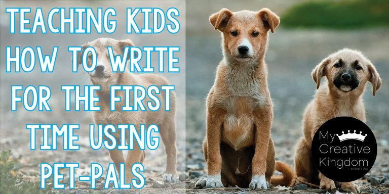 Teaching Kindergartners how to Write for the First time by using Pet-Pals