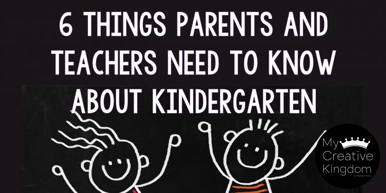 6 Things Parents and Teachers Need to Know About Kindergarten