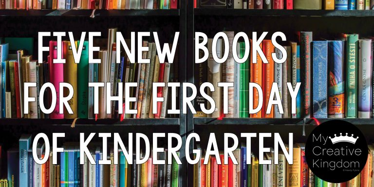 5 New Books for the First Day of Kindergarten
