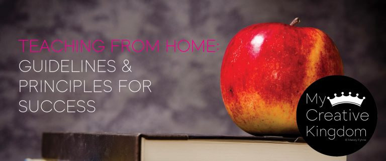 March 2020: Teaching At Home